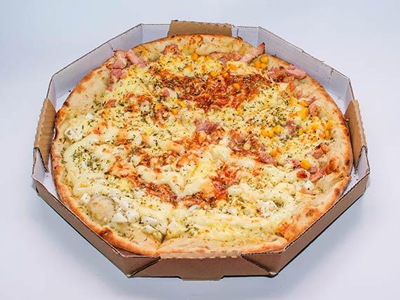 Pizza meio a meio media (25 cm)