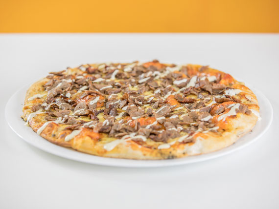 Pizzeta Kebaps familiar (30 cm aprox)