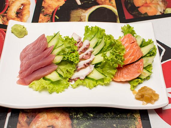 61 - Mix sashimi 18 unidades