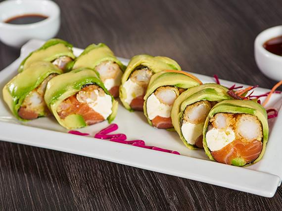 99 - Sake oriental rolls