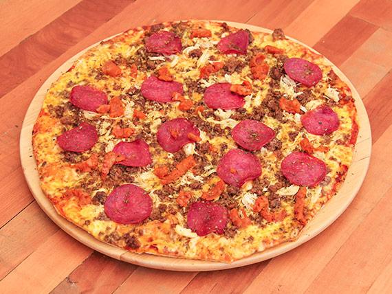Pizza capriccio (4 personas)