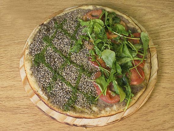 Pizza mitad y mitad