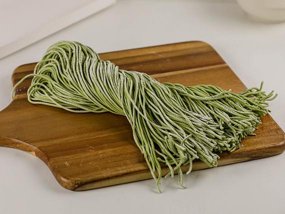 Tallarines de espinaca 1 kg