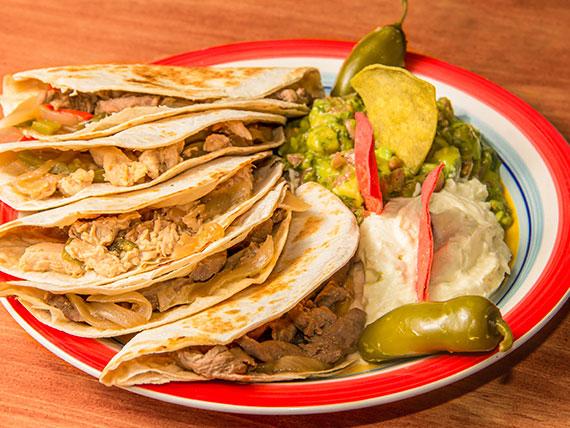 """Tacos """"al pastor"""" (5 unidades)"""
