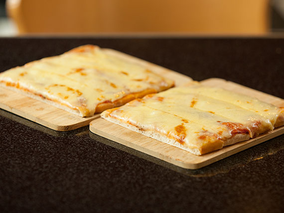 Promo - Porción pizza muzzarella 1 + 1