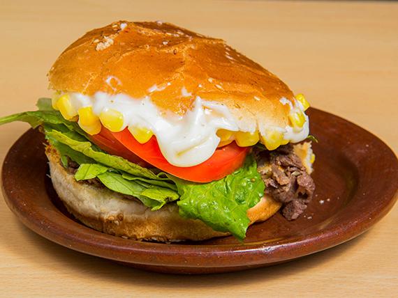 Sándwich de churrasco campesino