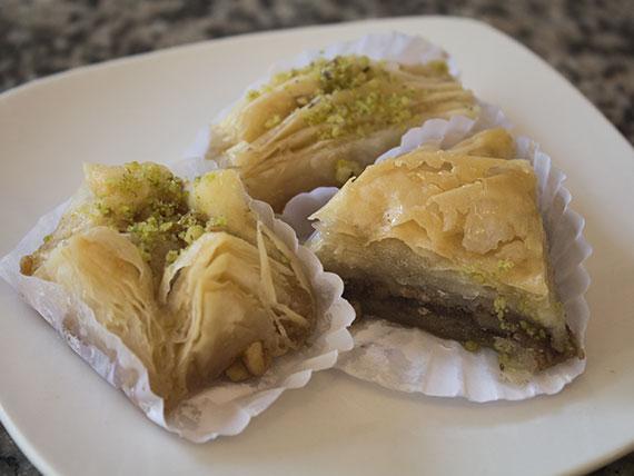 Dulces árabes (3 unidades)