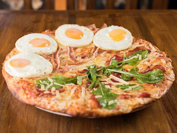 Pizzeta mitad y mitad premium