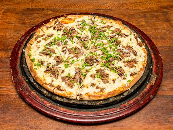 Pizza nordestina média