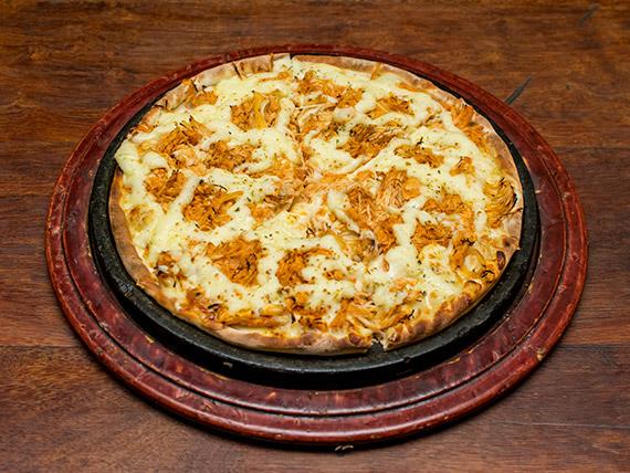 Pizza frango com catupiry média