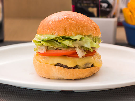 Cheese Burguer Salada