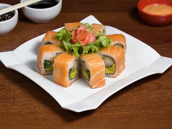 16 - Ebi furai roll (8 bocados)