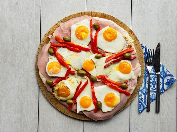 Pizza americana (grande)