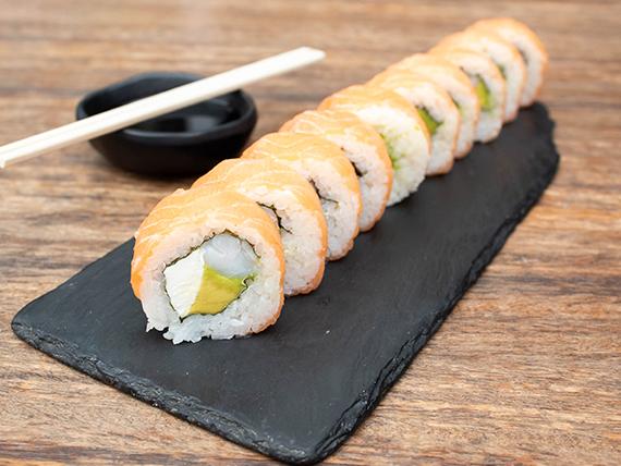 Special sake roll (10 piezas)