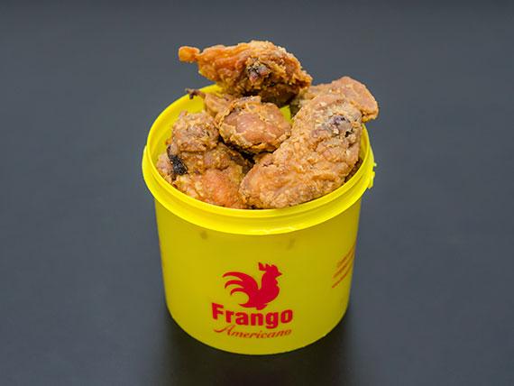 Caixa de frango americano média (9 a 10 pedaços)