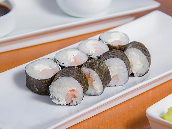138 - Hosomaki ebi cheese roll (8 unidades)