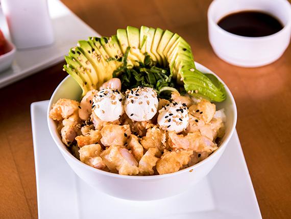 126 - Gohan ebi cheese tempura