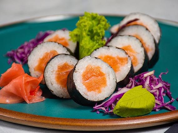 Sake maki roll (10 piezas)