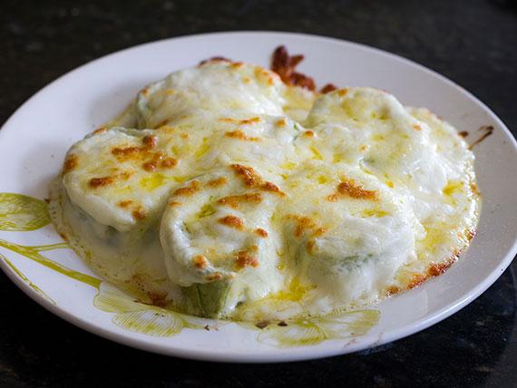 Rondelle verde quatro queijos