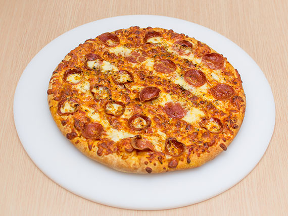 Pizza de catuperoni média