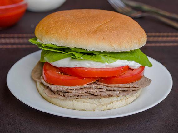 Sándwich clásico de 15 cm