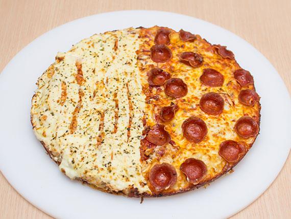 Pizza meio a meio grande