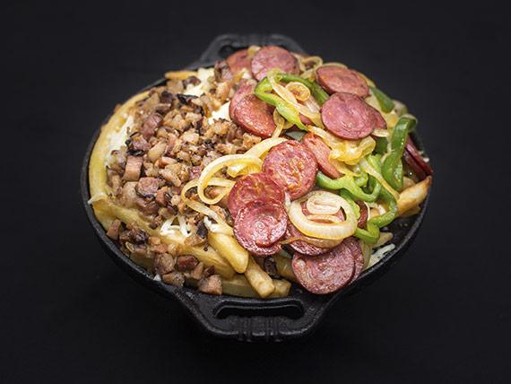 Porção de batata frita especial