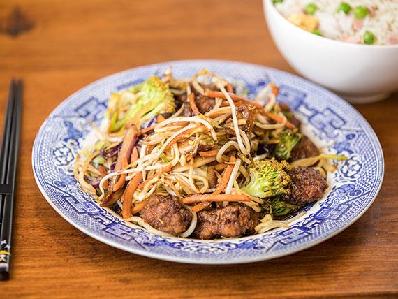 Promo - 1 plato + arroz frito