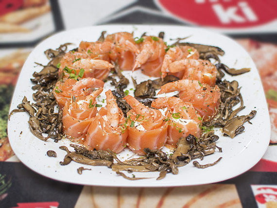 50c - Sushi Joe ebi salmonado 12 unidades