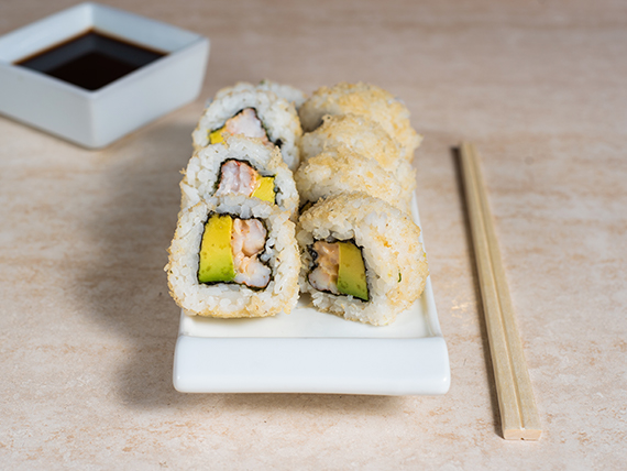 06 - Ebi crispy roll (8 piezas)