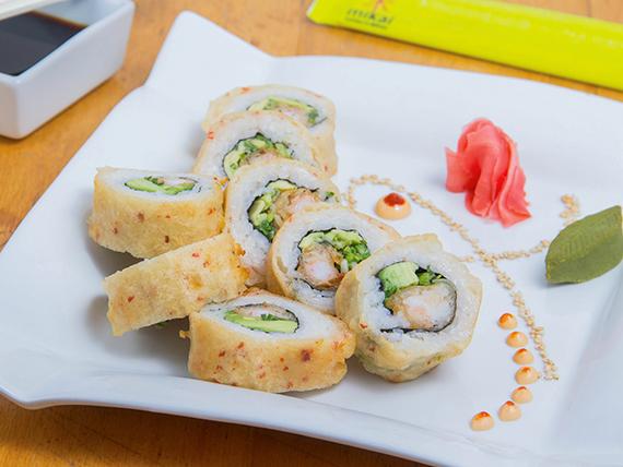 Ebi teriyaki roll (8 piezas)
