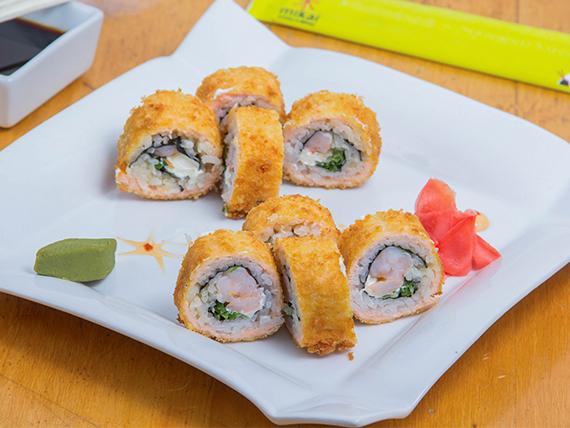 Sake especial roll (8 piezas)
