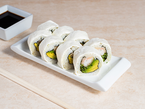 37 - Snow tempura roll (8 piezas)