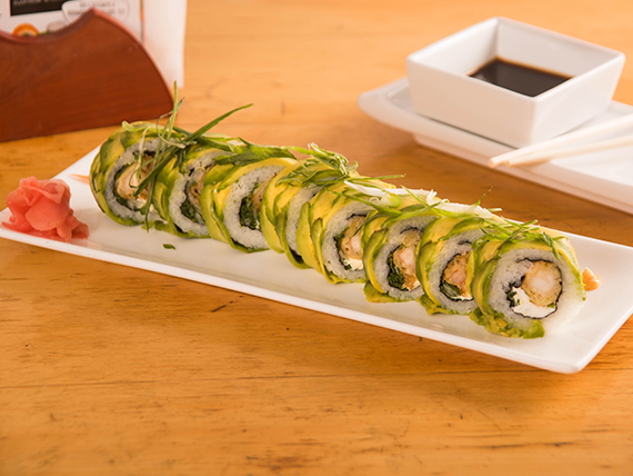 46 - Doble tempura roll (8 piezas)
