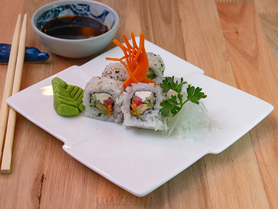 Vegetariano roll (10 unidades)