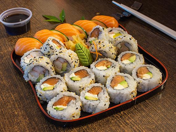 Combi 8 - Sugerido del sushiman (25 unidades)