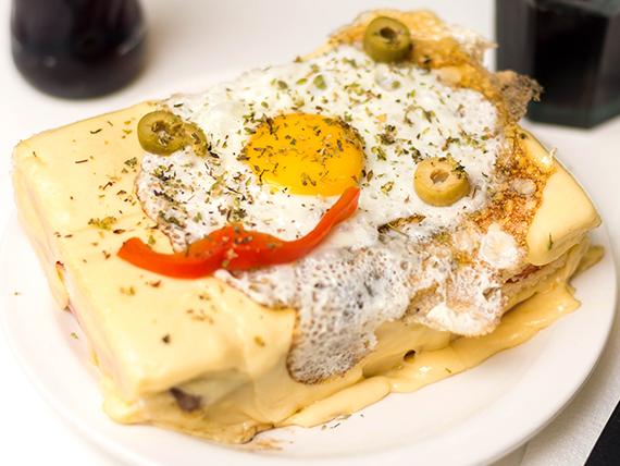 Sándwich mexicano para dos personas