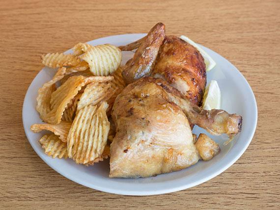 1/2 pollo gourmet
