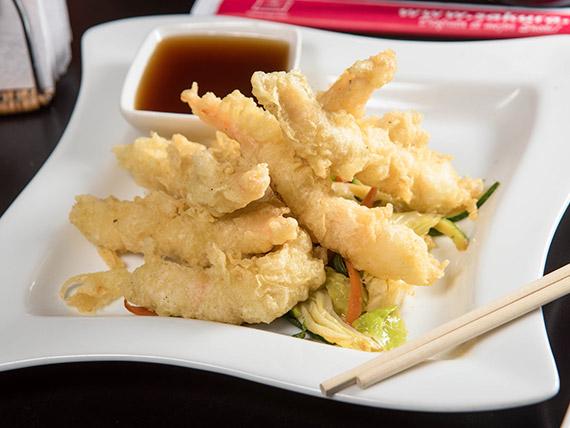 Camarón tempura (6 unidades)