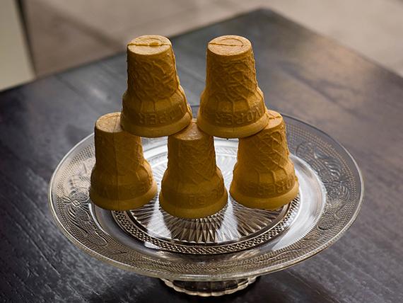 Vasos de oblea (5 unidades)