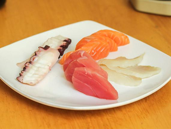 Sashimi especial (9 cortes)