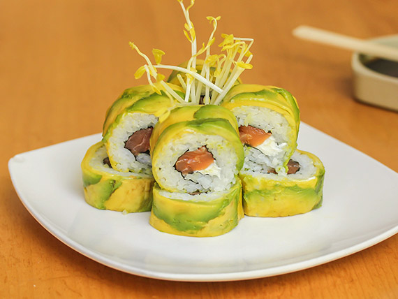 Avocado roll (8 bocados)