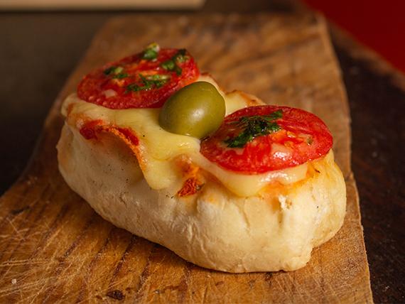Cañón de pizza napolitano