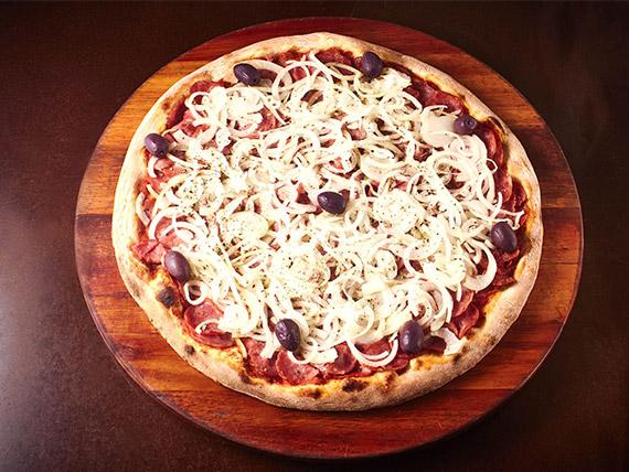 Pizza tradicional grande calabresa I