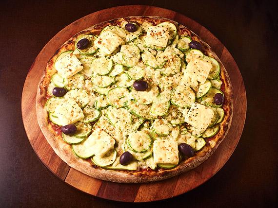 Pizza tradicional grande abobrinha