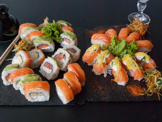 Combinado - Especial salmón 30 piezas
