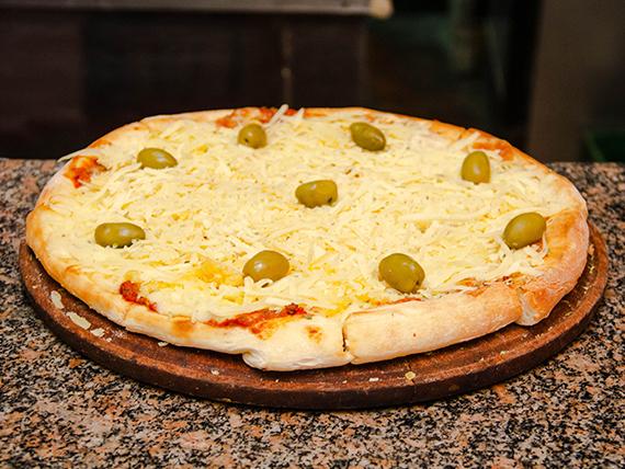 Pizza de provolone