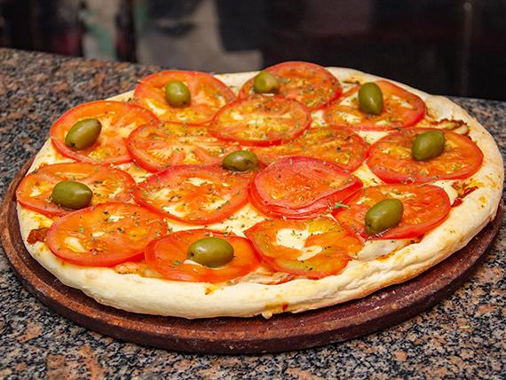 Pizza napolitana (con o sin ajo)
