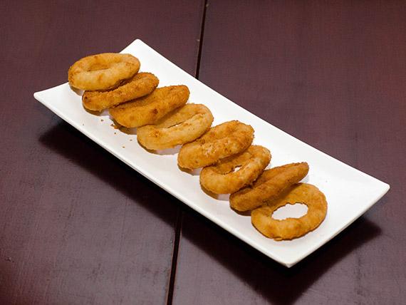 218 - Porção de onion rings (8 unidades)