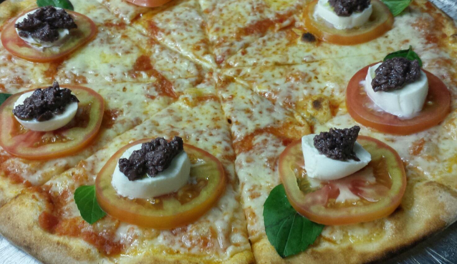 Promoção - Pizza caprese (lançamento gourmet)
